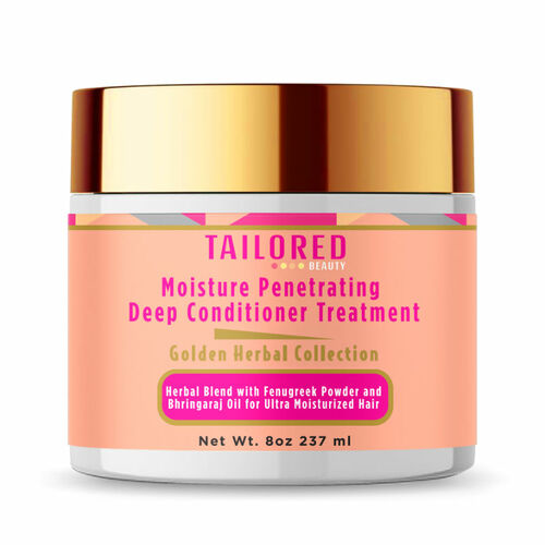 Tailored Beauty Golden Herbal Collection Moisture Penetrating Deep Conditioner Treatment (8 oz.)