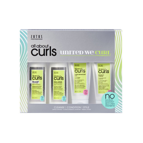 Zotos Professional All About Curls Starter Kit (4 pc.)
