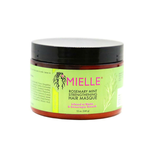 Mielle Organics Rosemary Mint Strengthening Hair Masque (12 oz.)