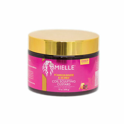 Mielle Organics Pomegranate & Honey Coil Sculpting Custard (12 oz.)