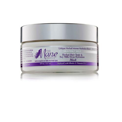 The Mane Choice Heavenly Halo Herbal Hair Tonic & Soy Milk Deep Hydration Mask (8 oz.)