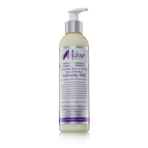 The Mane Choice Heavenly Halo Herbal Hair Tonic & Soy Milk Deep Hydration Softening Milk (8 oz.)