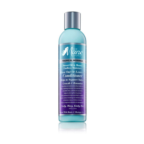 The Mane Choice Tropical Moringa Sweet Oil & Honey Endless Moisture Rinse Out or Leave-In Conditioner (8 oz.)