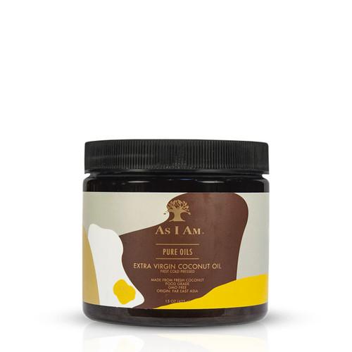 As I Am Pure Oils Extra Virgin Coconut Oil (15 oz.)