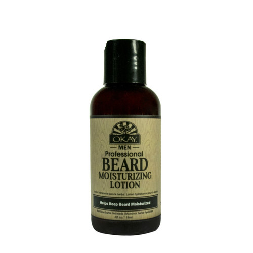 OKAY Pure Naturals Men Professional Beard Moisturizing Lotion (4 oz.)
