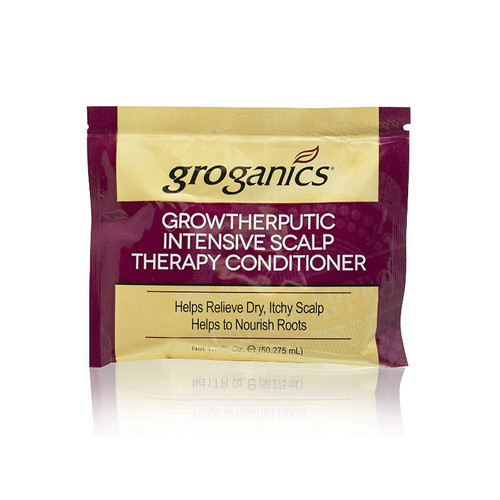 Groganics Growtherputic Intensive Scalp Therapy Conditioner Packette (1.70 oz.)