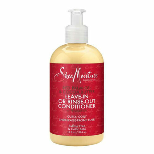 SheaMoisture Red Palm Oil & Cocoa Butter Leave-In or Rinse-Out Conditioner (13.5 oz.)