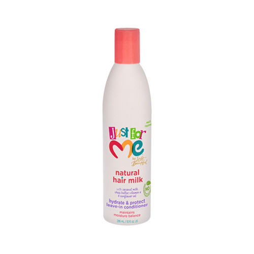 Just For Me Natural Hair Milk Hydrate & Protect Leave-In Conditioner (10 oz.)