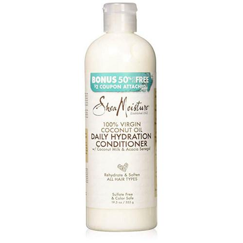 SheaMoisture 100% Virgin Coconut Oil Daily Hydration Conditioner (19.5 oz.)