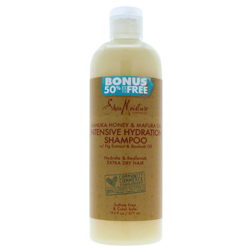 SheaMoisture Manuka Honey & Mafura Oil Intensive Hydration Shampoo (19.5 oz.)