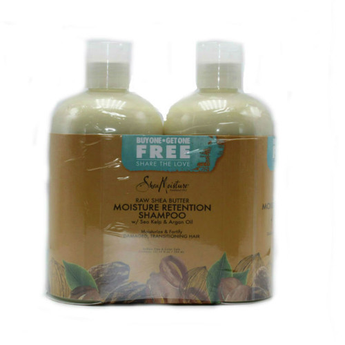 SheaMoisture Raw Shea Butter Moisture Retention Shampoo Combo Pack (13 oz.)