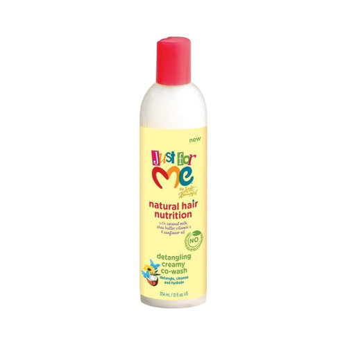 Just For Me Natural Hair Nutrition Detangling Creamy Co-Wash (12 oz.)