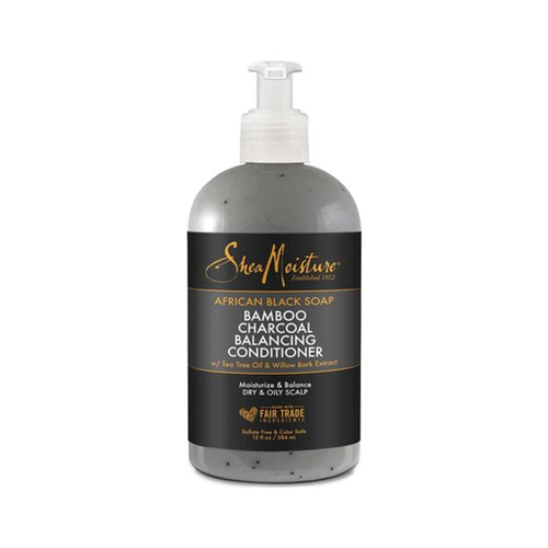 SheaMoisture African Black Soap Bamboo Charcoal Deep Balancing Conditioner (13 oz.)