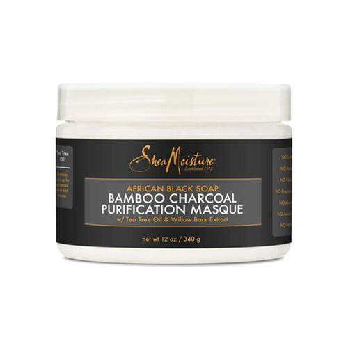 SheaMoisture African Black Soap Bamboo Charcoal Purification Masque (12 oz.)