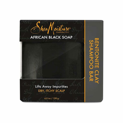 SheaMoisture African Black Soap Bentonite Clay Shampoo Bar (4.5 oz.)