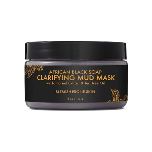 SheaMoisture African Black Soap Clarifying Mud Mask (4 oz.)