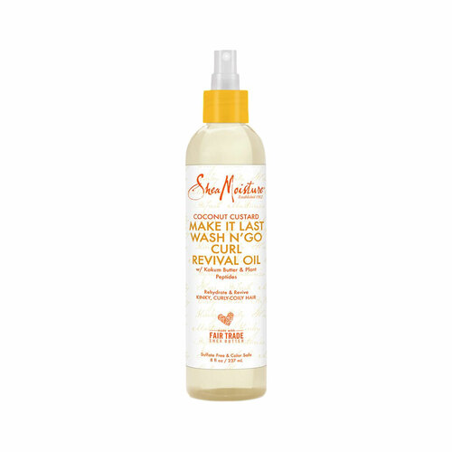 SheaMoisture Coconut Custard Make It Last Wash N' Go Curl Revival Oil (8 oz.)