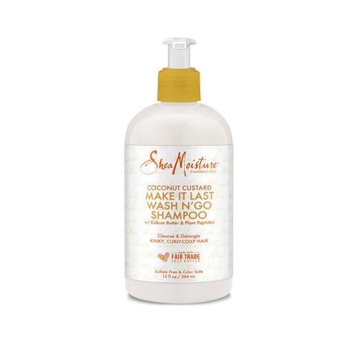 SheaMoisture Coconut Custard Make It Last Wash N' Go Shampoo (13 oz.)