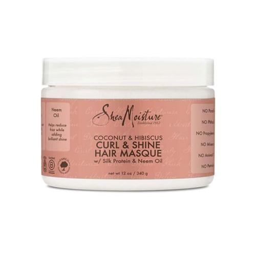 SheaMoisture Coconut & Hibiscus Curl & Shine Hair Masque (12 oz.)