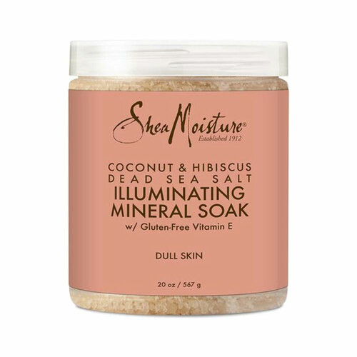 SheaMoisture Coconut & Hibiscus Dead Sea Salt Illuminating Mineral Soak (20 oz.)