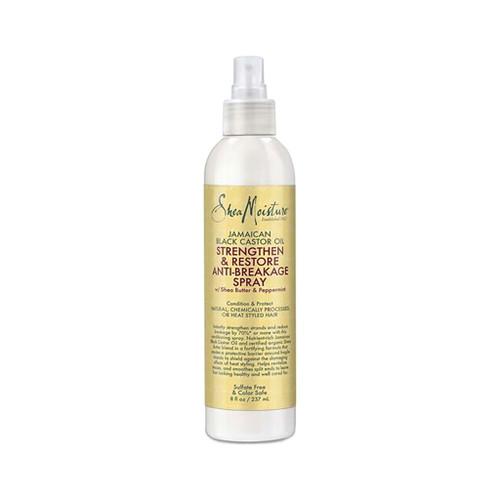 SheaMoisture Jamaican Black Castor Oil Strengthen & Restore Anti-Breakage Spray (8 oz.)