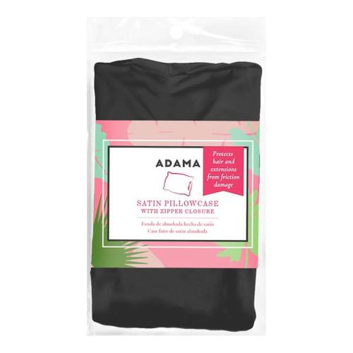 Adama Black Satin Pillow Case