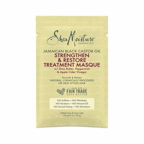 SheaMoisture Jamaican Black Castor Oil Strengthen & Restore Treatment Masque Packette (2 oz.)