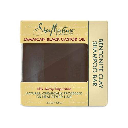 SheaMoisture Jamaican Black Castor Oil Bentonite Clay Shampoo Bar (4.5 oz.)