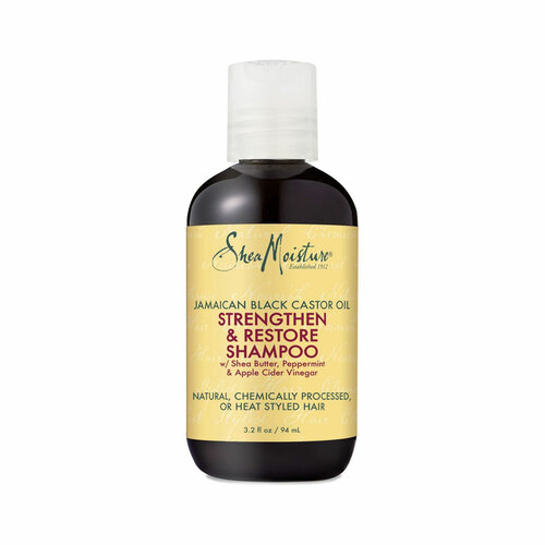 SheaMoisture Jamaican Black Castor Oil Strengthen & Restore Shampoo (3.2 oz.)