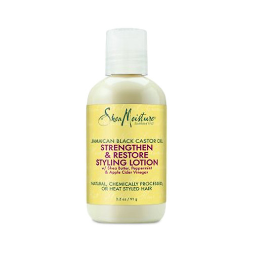 SheaMoisture Jamaican Black Castor Oil Strengthen & Restore Styling Lotion Trial & Travel Size (3.2 oz.)