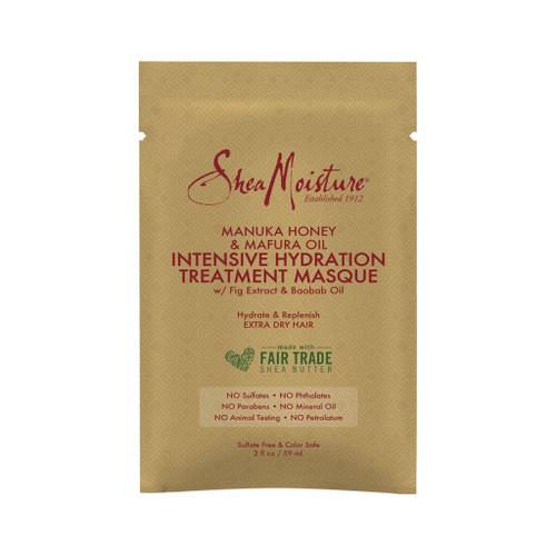 SheaMoisture Manuka Honey & Mafura Oil Intensive Hydration Treatment Masque Packette (2 oz.)