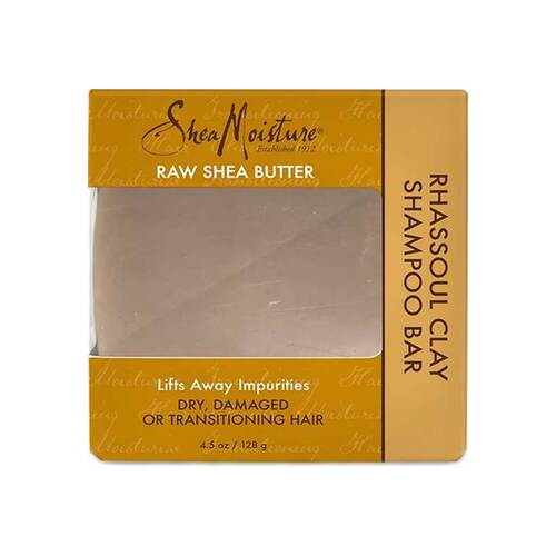 SheaMoisture Raw Shea Butter Rhassoul Clay Shampoo Bar (4.5 oz.)