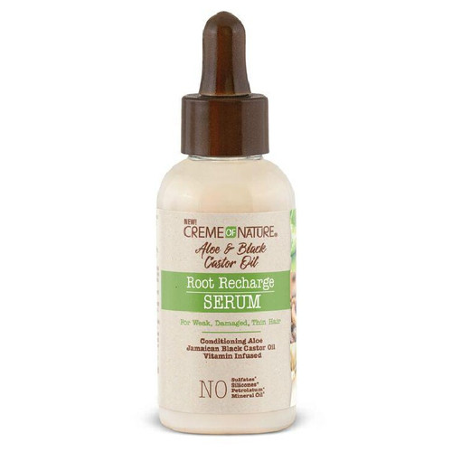 Creme of Nature Aloe & Black Castor Oil Root Recharge Serum (1.7 oz.)