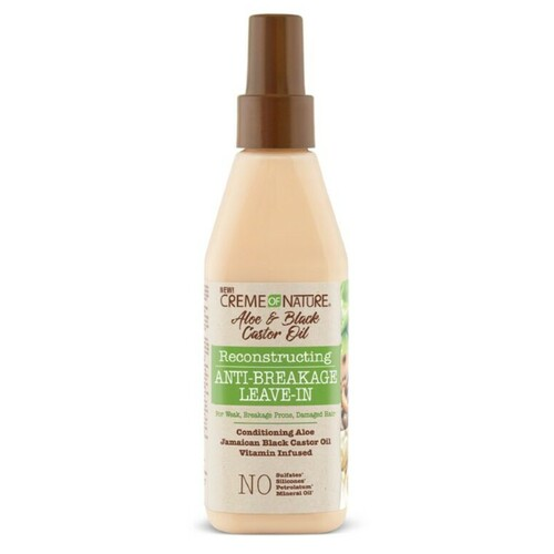 Creme of Nature Aloe & Black Castor Oil Reconstructing Anti-Breakage Leave-In (8 oz.)