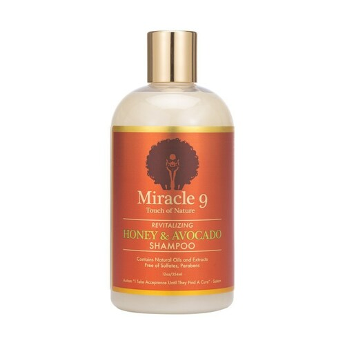 Miracle 9 Touch of Nature Revitalizing Honey & Avocado Shampoo (12 oz.)
