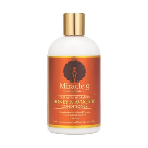 Miracle 9 Touch of Nature Deep Ultra-hydrating Honey & Avocado Conditioner (12 oz.)
