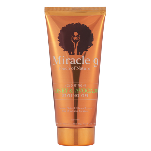 Miracle 9 Touch of Nature Hold It Tight Honey & Avocado Styling Gel (6 oz.)