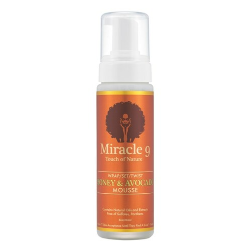 Miracle 9 Touch of Nature Wrap, Set & Twist Honey & Avocado Mousse (8 oz.)