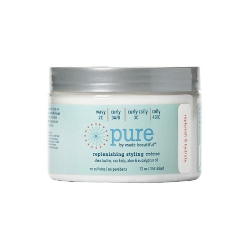 PURE by made beautiful Replenishing Styling Creme (12 oz.)