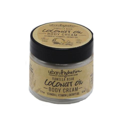 Urban Hydration Vanilla Bean Coconut Oil Whipped Body Cream (1.7 oz.)