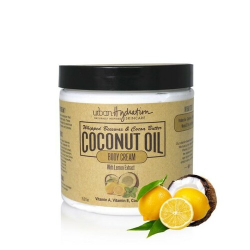 Urban Hydration Coconut Oil Body Cream with Lemon Extract (16.9 oz.)