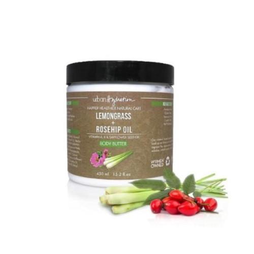 Urban Hydration Lemongrass + Rosehip Oil Body Butter (15.2 oz.)