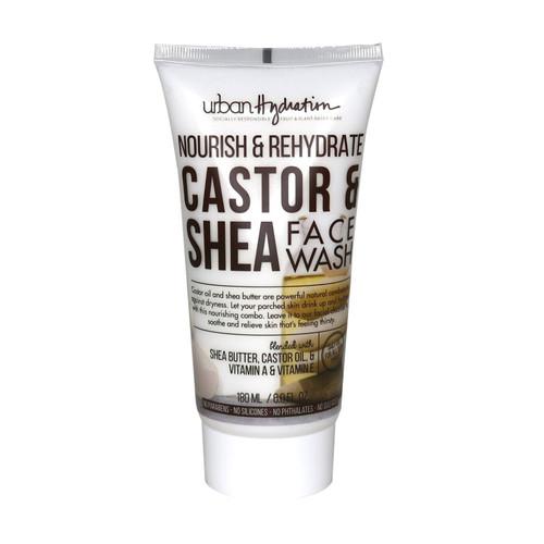 Urban Hydration Nourish & Rehydrate Castor & Shea Face Wash (6 oz.)
