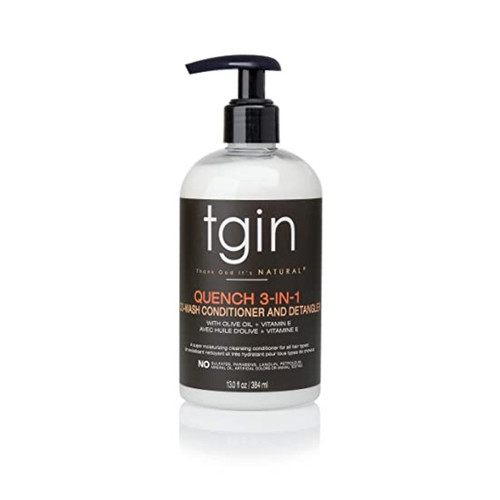 tgin Quench 3-In-1 Co-Wash Conditioner And Detangler (13 oz.)