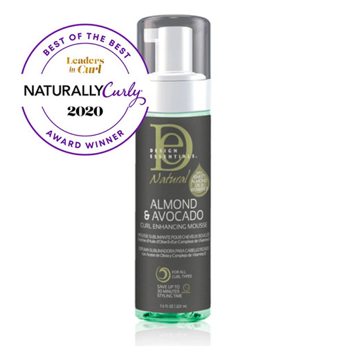Design Essentials Almond & Avocado Curl Enhancing Mousse (7.5 oz.)