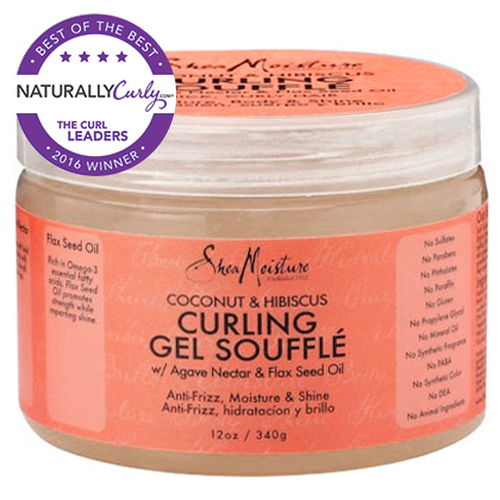 SheaMoisture Coconut & Hibiscus Curling Gel Souffle (12 oz.)