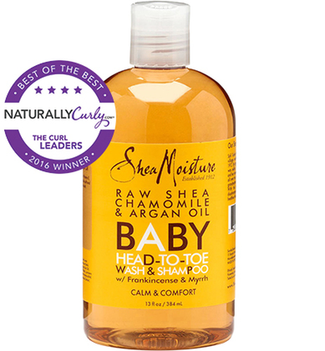 SheaMoisture Raw Shea Chamomile & Argan Oil Baby Head-To-Toe Wash & Shampoo (13 oz.)