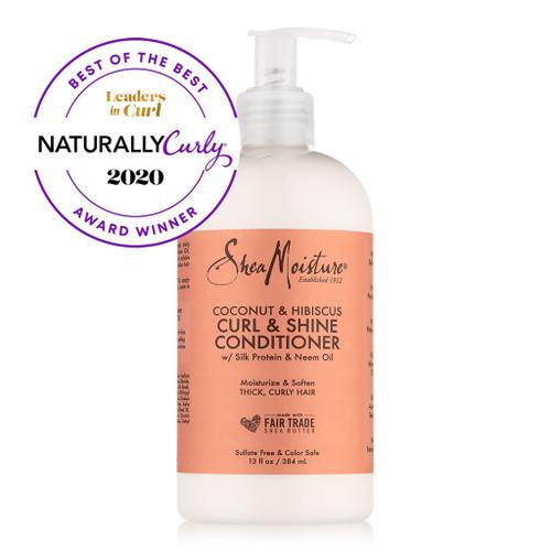 SheaMoisture Coconut & Hibiscus Curl & Shine Conditioner (13 oz.)