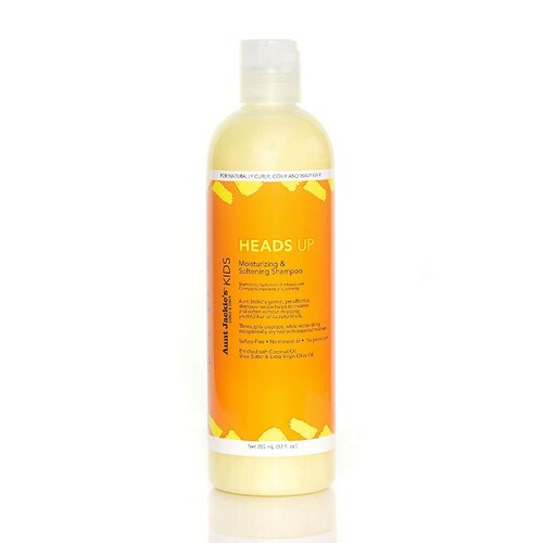 Aunt Jackie's Curls & Coils Kids Heads Up Moisturizing & Softening Shampoo (12 oz.)