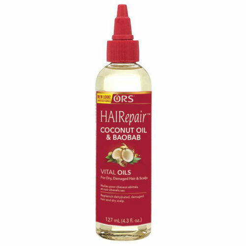 ORS HAIRepair Coconut Oil & Baobab Vital Oils for Dry, Damaged Hair & Scalp (4.3 oz.)